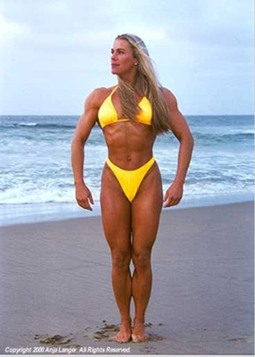 female bodybuilders before steroids